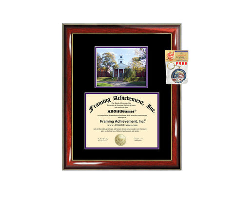 Amherst College diploma frame campus certificate Amherst degree frames framing gift graduation plaque document graduate alumni