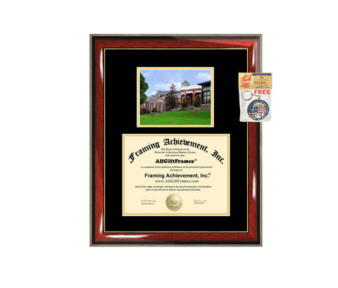 Appalachian diploma frame campus certificate Appalachian State University degree frames framing gift graduation plaque document college