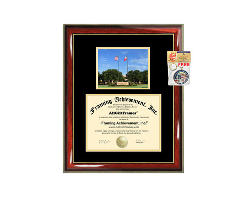 Angelo State University diploma frame campus certificate ASU university degree frames framing gift graduation plaque document college