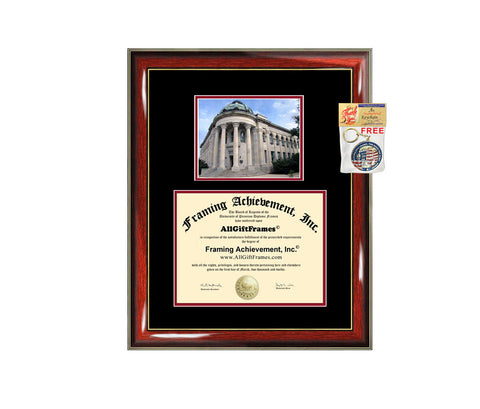 American University diploma frame campus certificate American degree frames framing gift graduation plaque document graduate alumni