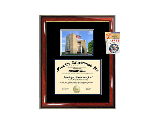 SUNY Fredonia diploma frame campus degree certificate framing gift graduation frames plaque certification