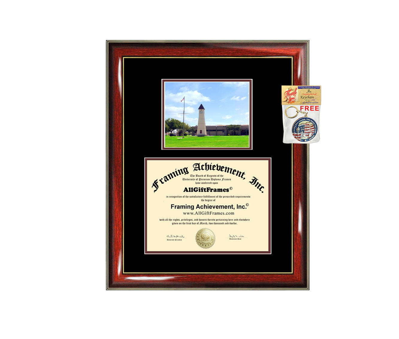 Texas A&M University Galveston diploma frame campus degree certificate