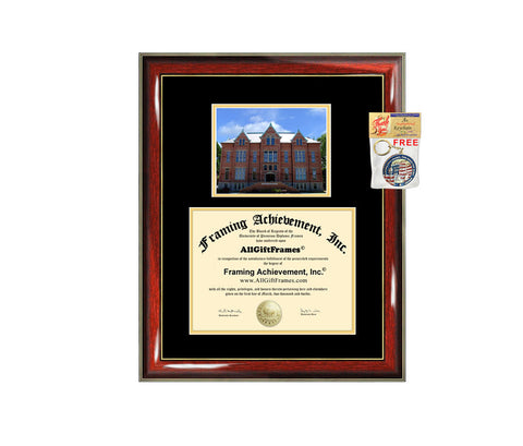 Tiffin University diploma frame campus degree certificate framing gift graduation frames photo document plaque certification Tiffin graduate
