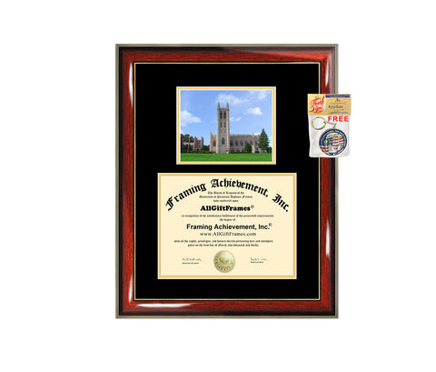 Trinity College Connecticut diploma frame campus degree certificate framing gift graduation frames photo document plaque certification