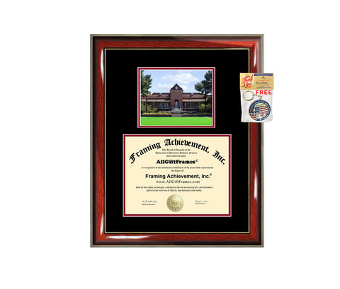 University of Arizona diploma frame campus degree certificate frames framing gift graduation photo document plaque certification