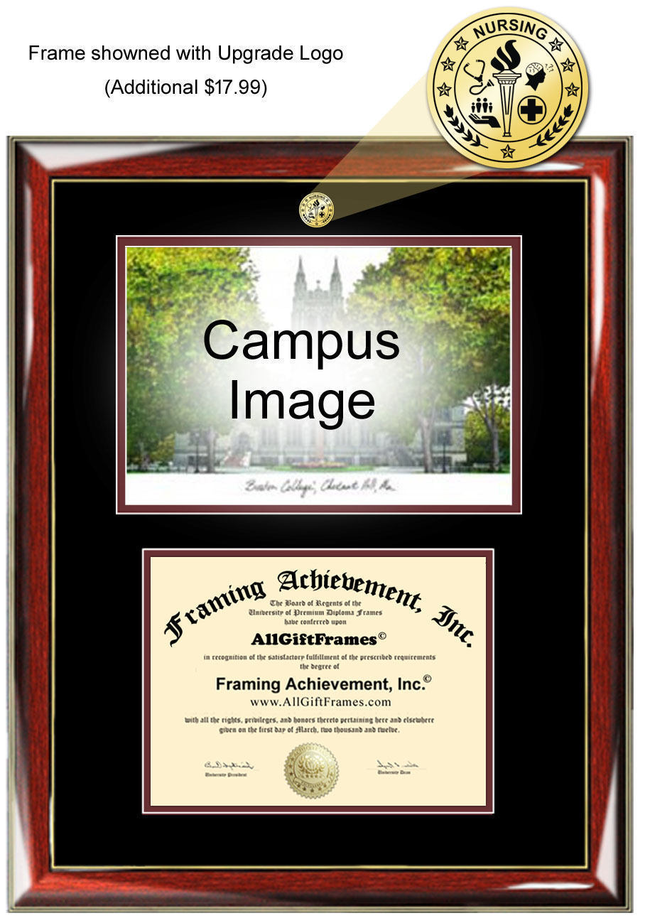University of North Texas diploma frames lithograph UNT frame campus s