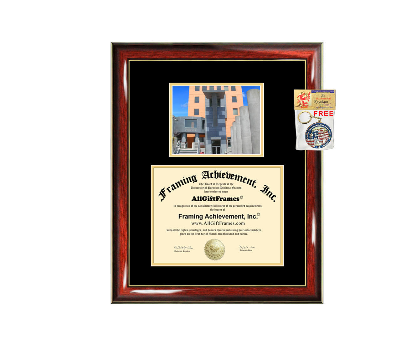 Loyola Law School Los Angeles Diploma Frame Campus Photo Certificate F