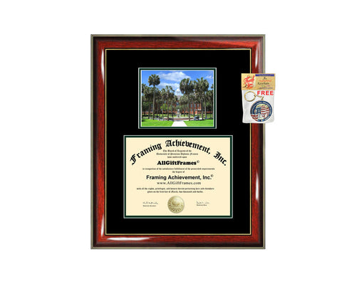 Stetson University diploma frame campus degree certificate framing gift graduation frames photo document plaque certification graduate