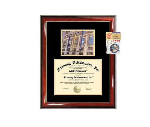 Suffolk University diploma frame campus degree certificate framing gift graduation frames photo document plaque certification graduate