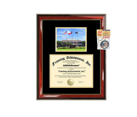 Texas A&M University Commerce diploma frame campus degree certificate TAMUC framing gift graduation frames plaque certification