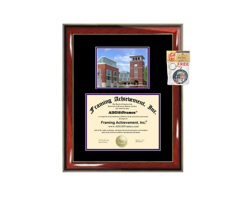 Truman State University diploma frame campus degree certificate framing gift TSU graduation frames document plaque certification