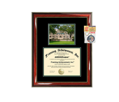 Tulane University diploma frame campus degree certificate framing gift Tulane graduation frames photo document plaque certification