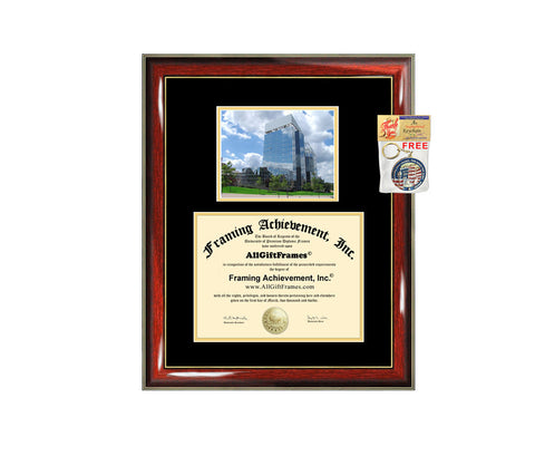 University of Akron diploma frame campus degree certificate framing gift Akron graduation frames photo document plaque certification case