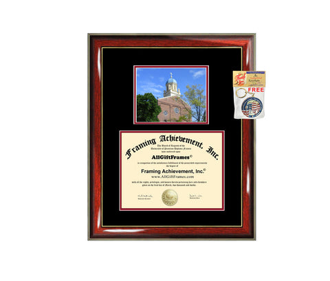 University of Dayton diploma frame campus photo certificate framing graduation document college degree plaque graduate document
