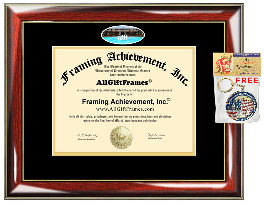 Ucf Diploma Frame University Of Central Florida Degree Certificate Cam