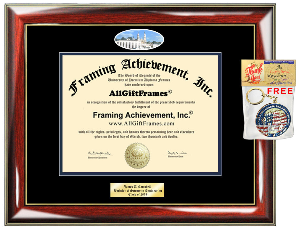 USF diploma frame University San Francisco campus picture degree Perso