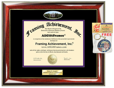 Ashland University diploma frame certificate Ashland degree framing Personalized Bachelor Master Doctorate phd mba Engrave Holder Case