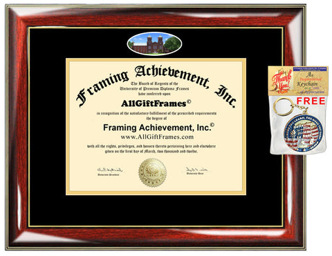 Antioch College diploma frame campus certificate degree framing graduation gift bachelor master mba phd plaque document graduate alumni