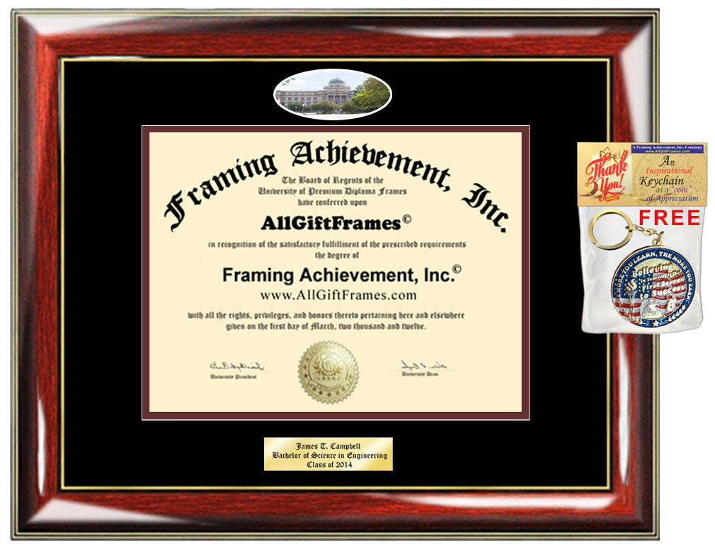 Texas A&M Mba >> Tamu Diploma Frame Campus Picture Texas A M University College Station Personalized Bachelor Master Doctorate Phd Mba Engrave Holder Case