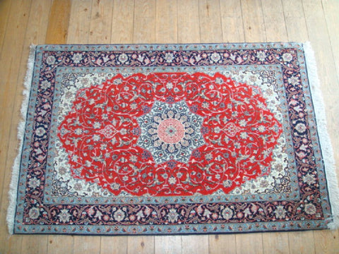 Isfahan Rug 170x110 X4378 - Persian Tribal Rugs - 1