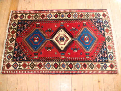 Yalameh Rug 157x100 X6579 - Persian Tribal Rugs