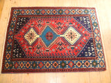 Yalameh Rug 135x102 Z126 - Persian Tribal Rugs