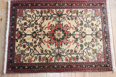 Bakhtiar Rug 102x80 X6366 - Persian Tribal Rugs - 1