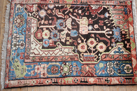 Nahavand Rug 115x83 6526 - Persian Tribal Rugs - 1