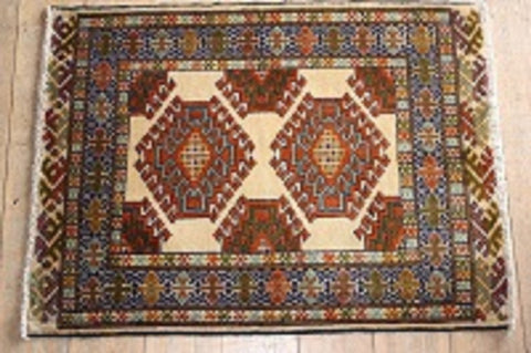 Balouch Rug 90x67 Z432 - Persian Tribal Rugs - 1