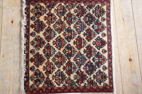 Abadeh Rug 70x62 X1574 - Persian Tribal Rugs
