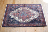Senneh Rug 175x117 X2714 - Persian Tribal Rugs - 1