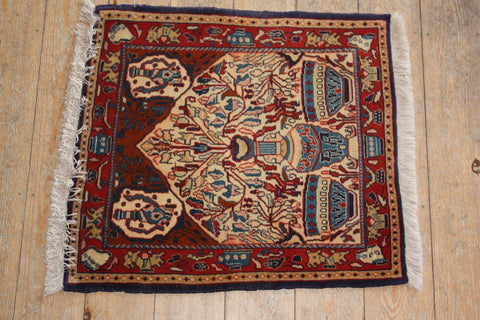 Sarouk Rug 68x63 V2880 - Persian Tribal Rugs