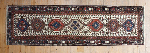 Yalameh Runner 295x85 Z701 - Persian Tribal Rugs - 1