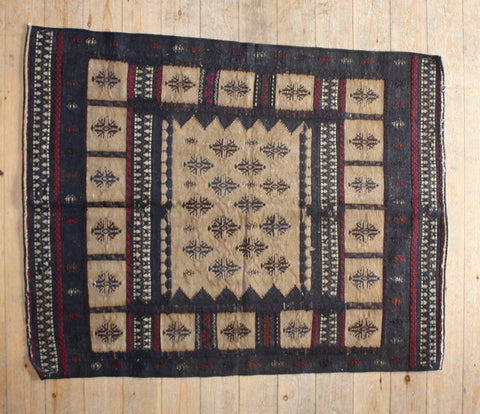 Persian Kilim 152x120 X5613 - Persian Tribal Rugs - 1