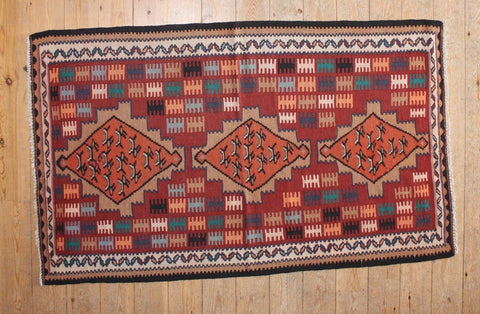 Persian Kilim 170x105 Z533 - Persian Tribal Rugs - 1