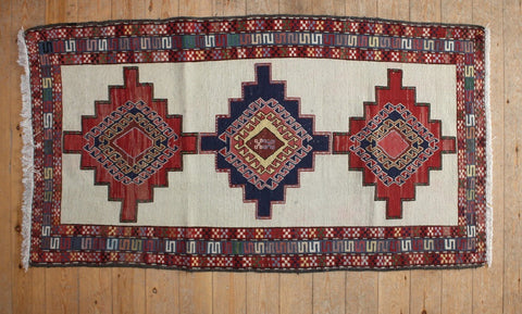 Persian Kilim 190x105 Z536 - Persian Tribal Rugs - 1