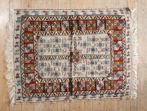 Persian Kilim 140x108 F96 - Persian Tribal Rugs