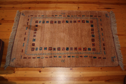 Gabbeh Rug 162x101 X3390 - Persian Tribal Rugs