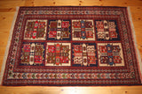 Quchan Rug 163x118 9800 - Persian Tribal Rugs - 1