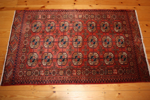 Turkman Rug 175x108 X6453 - Persian Tribal Rugs - 1