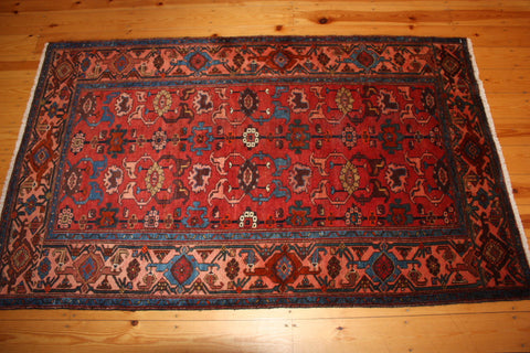 Hamedan Rug 210x127 X5064 - Persian Tribal Rugs - 1