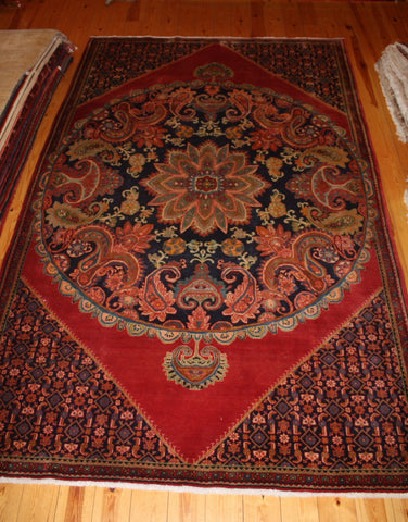 Hamedan Rug 305x195 X3854 - Persian Tribal Rugs