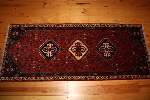 Qashqai Runner 195x80 X5439 - Persian Tribal Rugs