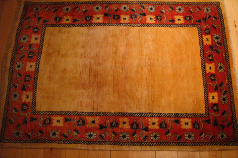 Gabbeh Rug 156x108 Z1285 - Persian Tribal Rugs