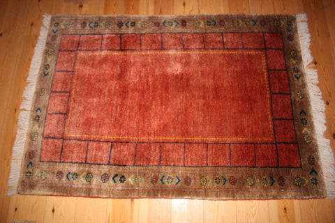 Gabbeh Rug 137x109 Z1267 - Persian Tribal Rugs