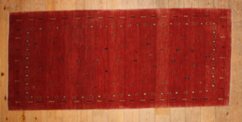 Gabbeh Rug 200x87 Z1469 - Persian Tribal Rugs - 1
