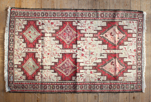 Persian Kilim 180x110 X5936 - Persian Tribal Rugs - 1