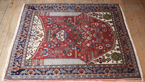 Kashkuli Rug 140x115 Z1643 - Persian Tribal Rugs - 1