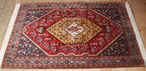 Kashkuli Rug 153x100 Z2010 - Persian Tribal Rugs - 1