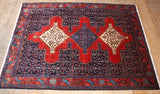Senneh Rug 160x115 Z2062 - Persian Tribal Rugs - 1